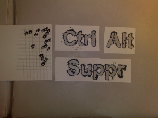 Ctrl alt suppr sources